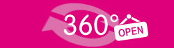 Virtueller Rundgang tragbar pink