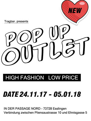 Pop-Up Outlet tragbar Esslingen
