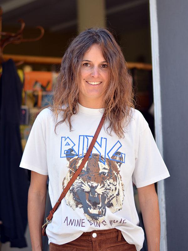 Cooles Shirt Anine Bing tragbar Esslingen