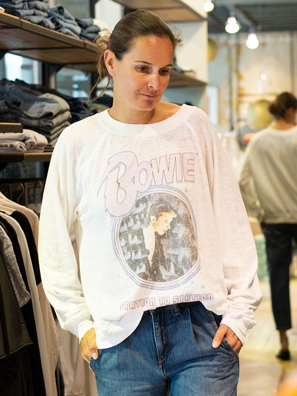 Bowie Pulli von Recycled Karma im tragbar Esslingen