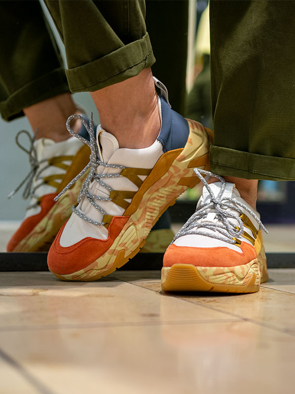 Bunte Sneaker von Closed im tragbar pure Esslingen