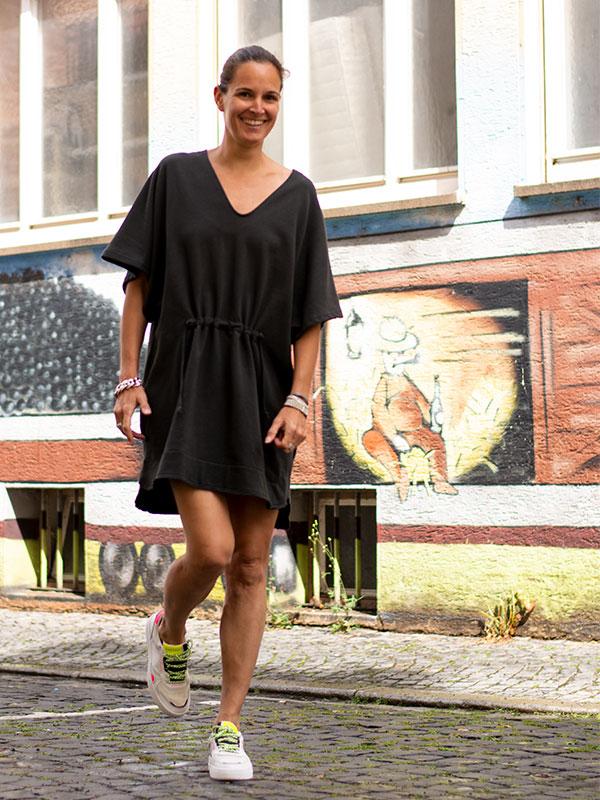 Kurzes Sweat Kleid Rabens Saloner tragbar Esslingen